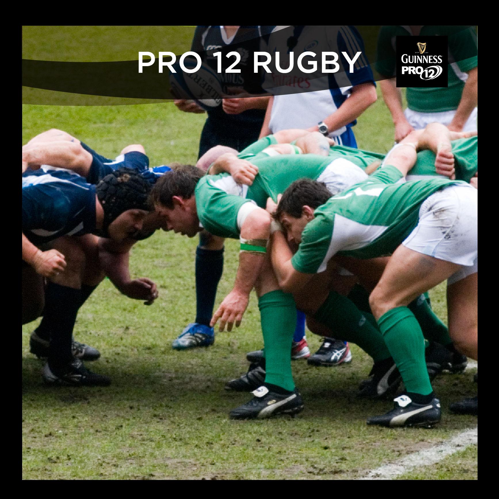 Guinness Pro12: Perimeter Advertising